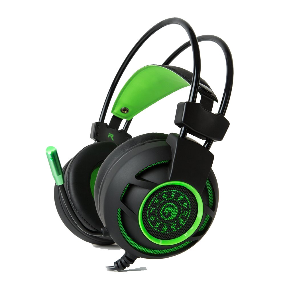 Tai Nghe Headphones MARVO HG9012 7.1 Channel Vistual USB Surround Stereo Wired Gaming LED Lighting L