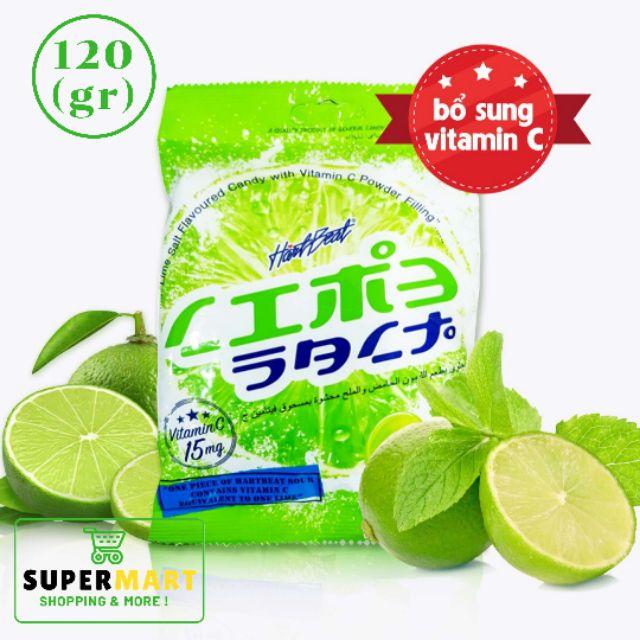 Kẹo Chanh Muối Thái Lan 120g - Hartbeat Lime Salt Candy 120 gram