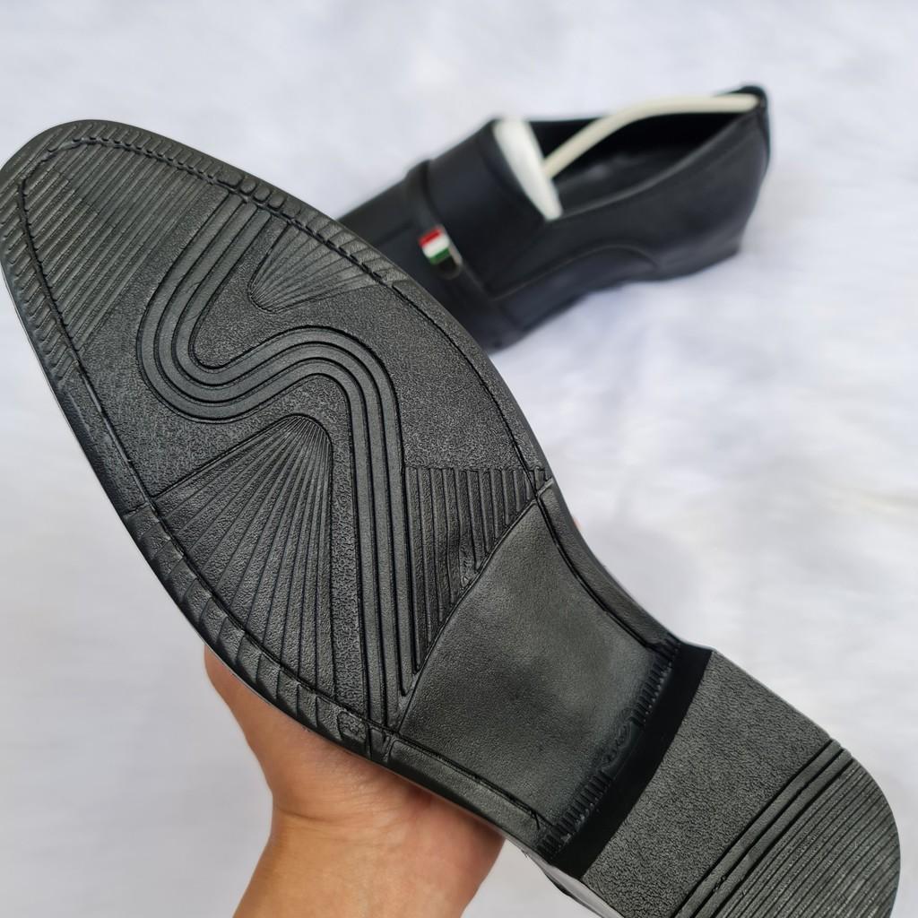 Giày Tây Nam Da Cát Nhám, Đế Khâu Lịch Lãm