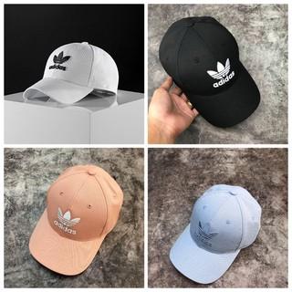 (Hàng xuất xịn) Mũ ADIDAS Trefoil Logo Baseball Cap/Mũ adidas ba lá thêu