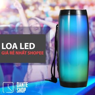 Loa Buetooth Không Dây Giá Rẻ Có LED Cho Di Động Kết Nối USB, Thẻ Nhớ, Cổng 3.5 – 2 Loa 2 Bass Ấm