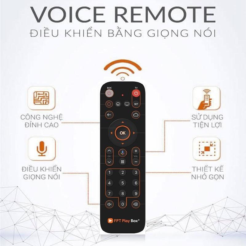 Voice Remote FPT Play Box - Remote điều khiển giọng nói của FPT