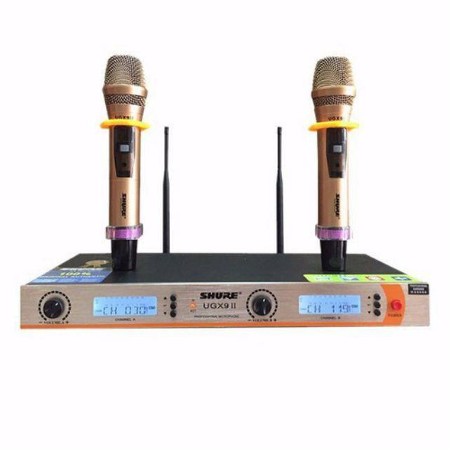 micro karaoke shurre ugx9ii loại 1,có ic, tự ngắt