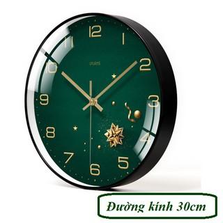 Đồng hồ treo tường kim trôi - SAO XANH - Kim Trôi