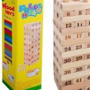 Bộ trò chơi rút gỗ WOOD TOYS loại lớn – BBL01