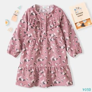 Váy Cho Bé Gái Chất Nhung Tăm Xinh Xắn Thời Trang BELLO LAND thumbnail