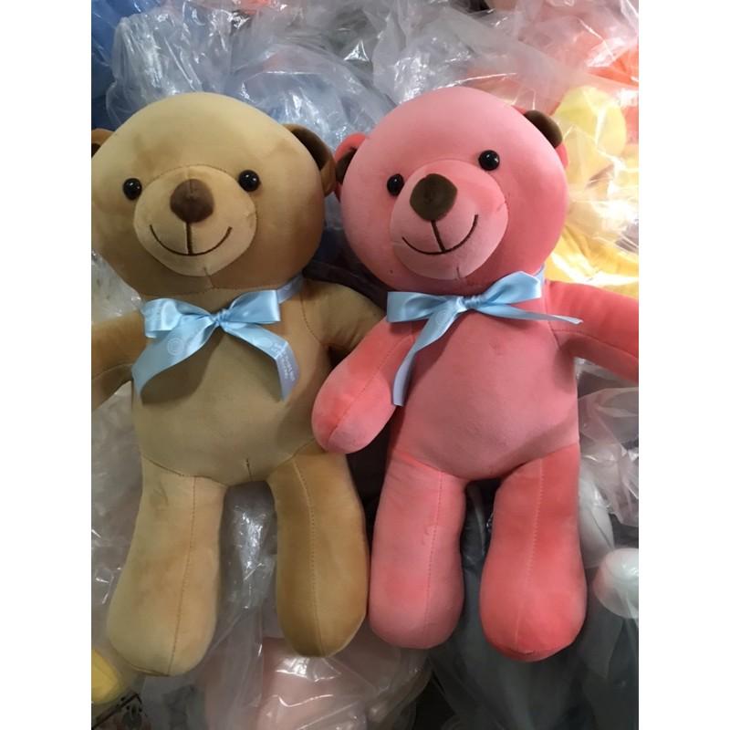 Gấu Bông Gấu Nơ, Gối Ôm Gấu Nơ Siêu Mềm Mịn Dễ Thương