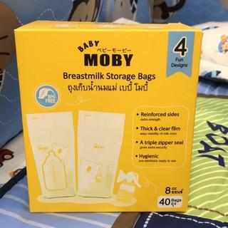 Túi trữ sữa moby Thái Lan 40 túi 250ml