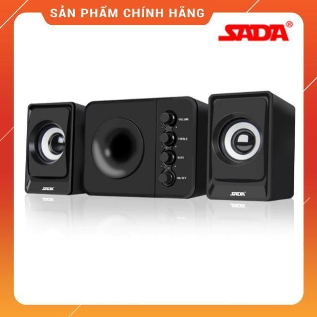 {Video Test Loa} Bộ 3 Loa Nghe Nhạc Máy Vi Tính USB SADA D205 Nghe Nhạc Cực Hay