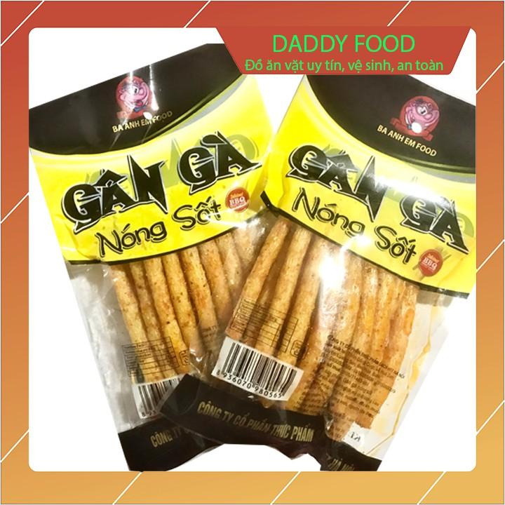 Snack gân gà nóng sốt x10 gói, sản phẩm bim bim sạch đảm bảo vệ sinh an toàn thưc phẩm