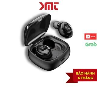 Tai nghe bluetooth không dây 5.0 gaming đàm thoại mini chống nước IPX5 hiển thị đèn LED phần trăm pin P16 KMT Store