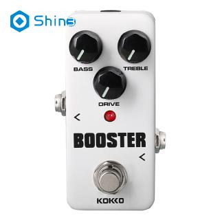 KOKKO FBS2 Mini Booster Pedal Portable 2-Band EQ Guitar Effect Pedal Guitar Parts & Accessories