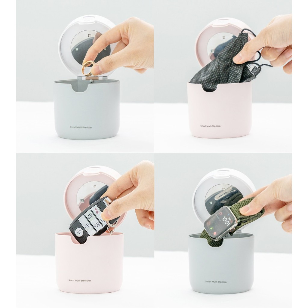Tiệt trùng ti giả Xách tay chính hãng Korea có sẵn Máy tiệt trùng mini  Ecomom - Máy tiệt trùng, hâm sữa Thương hiệu ecomom