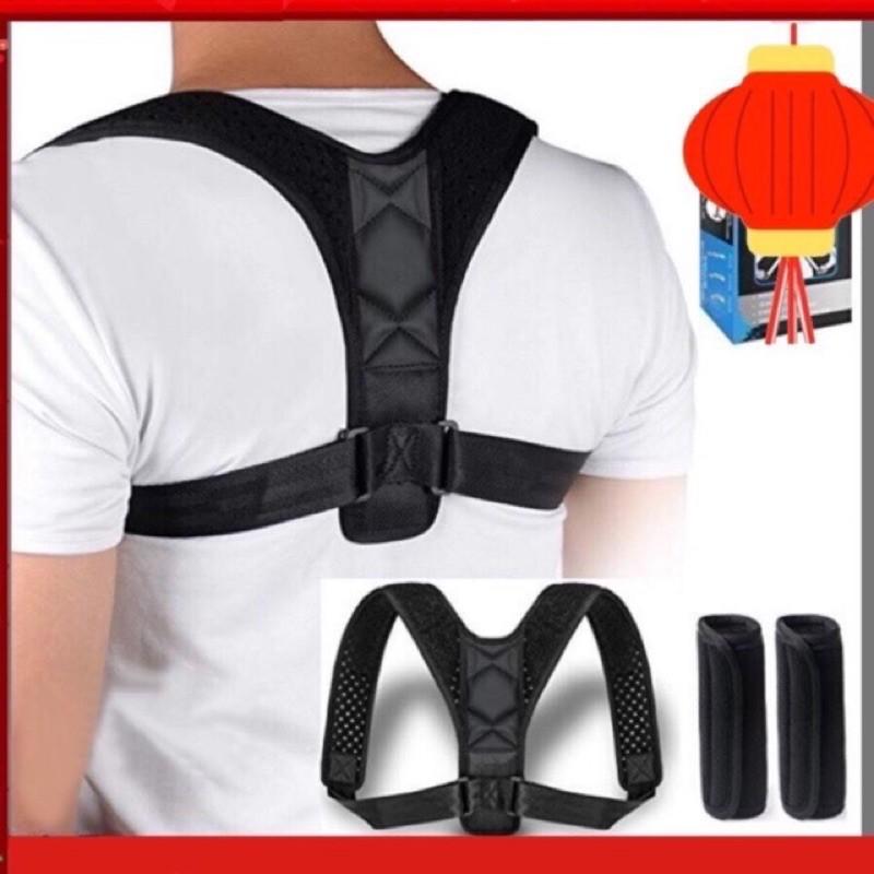 ✈️[Freeship] Đai chống gù lưng nam nữ Posture corrector [Tặng kèm 2 tấm trợ lực]