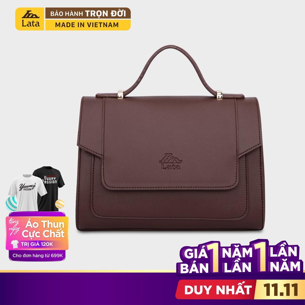 (MUA KÈM DEAL 0Đ) Túi đeo chéo nữ thời trang LATA HN82 nhiều màu