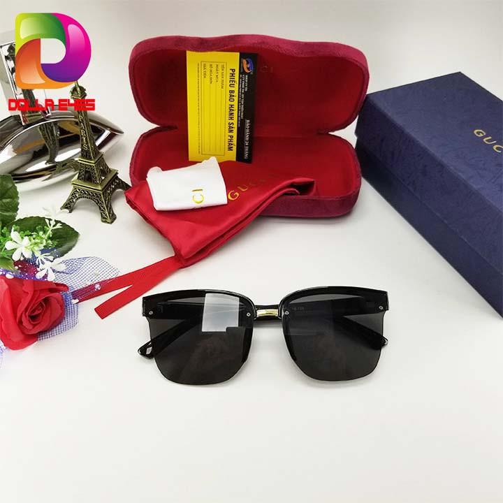 mắt kính nữ đẹp cao cấp _ thời trang _ Video test UV - Full hộp hiệu và đầy đủ phụ kiện