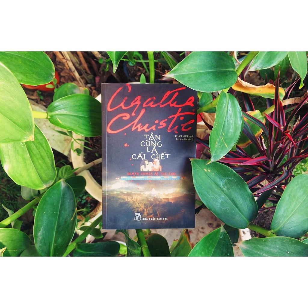 Sách - Tận Cùng Là Cái Chết - Agatha Christie ( Tái Bản 2019 )