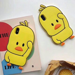 Ốp thú gà vàng iphone 5 /6/7/6plus/7plus/8plus