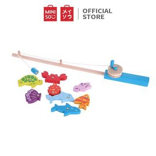 Đồ chơi ghép hình Miniso Fishing Set Toy TG2027 (Nhiều màu) - Hàng chính hãng