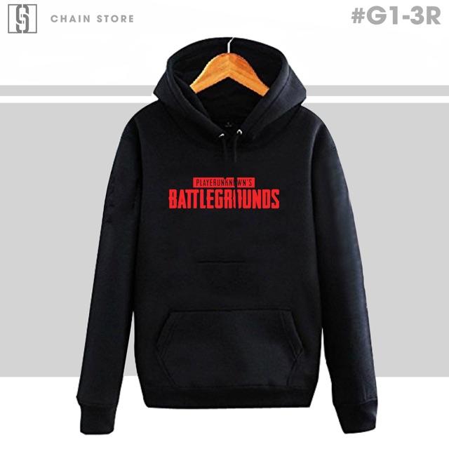 Áo hoodies PUBG dành cho các game thủ
