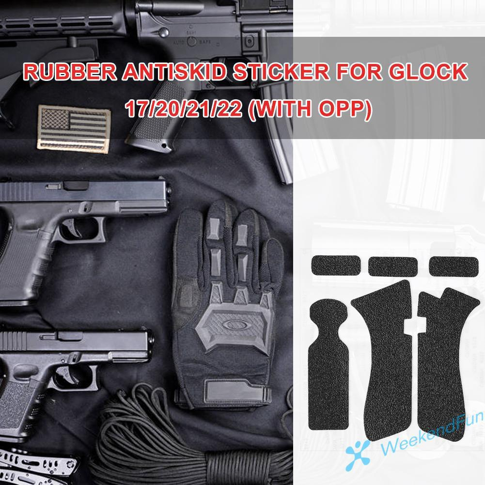 WE Rubber Texture Grip Wrap Tape Glove for Glock 17/20/21/22