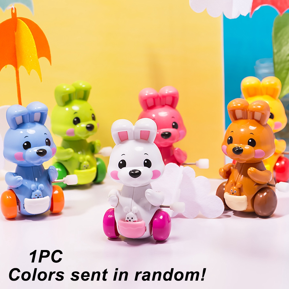 Cartoon Design Portable Durable Play Funny Kids Moving Cute Educational Wind Up Toy