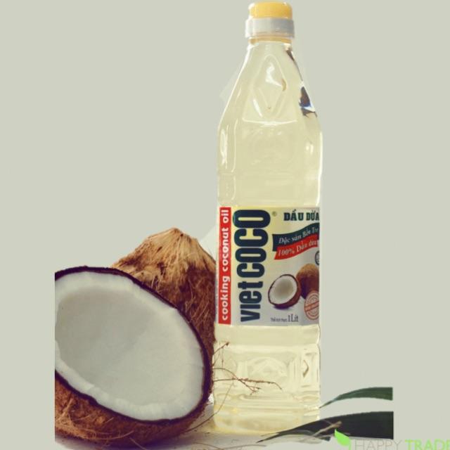 Bộ 2 chai Dầu dừa nguyên chất tinh luyện Vietcoco 1L - 2510803 , 1223414075 , 322_1223414075 , 160000 , Bo-2-chai-Dau-dua-nguyen-chat-tinh-luyen-Vietcoco-1L-322_1223414075 , shopee.vn , Bộ 2 chai Dầu dừa nguyên chất tinh luyện Vietcoco 1L