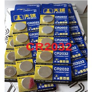 Vỉ 5 viên pin CMOS CR2032 Lithium Battery 3V thumbnail