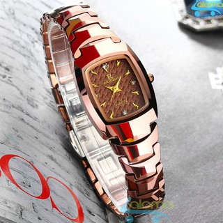 Đồng hồ nữ thời trang chống nước cao cấp Ontheedge (Đỏ đồng) thumbnail