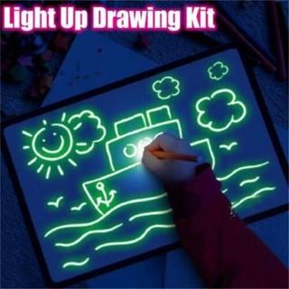 Bảng vẽ Bút phát sáng cho bé A5
