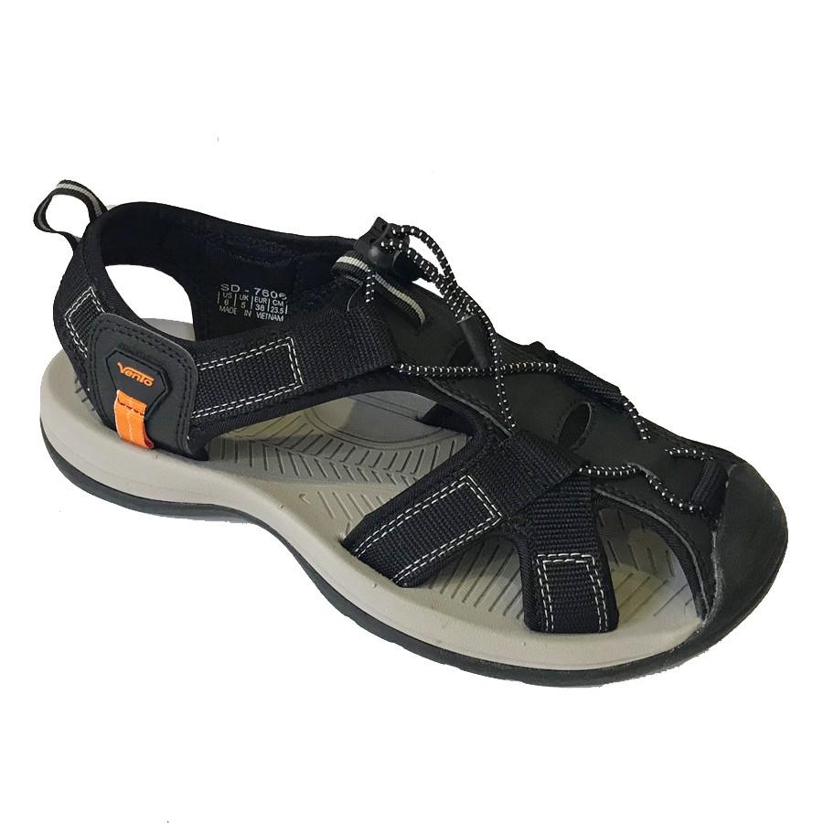 Giày sandal vento nam học sinh bít mũi quai dù đi phượt NV7606B - MOL VN- BẢO HÀNH 12 THÁNG