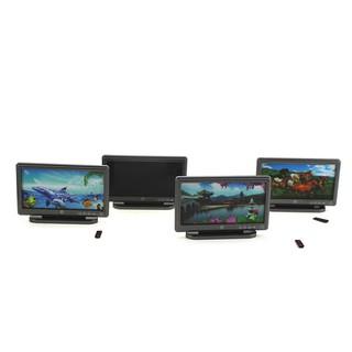 1:12 Miniature LCD TV dollhouse diy doll house decor accessories