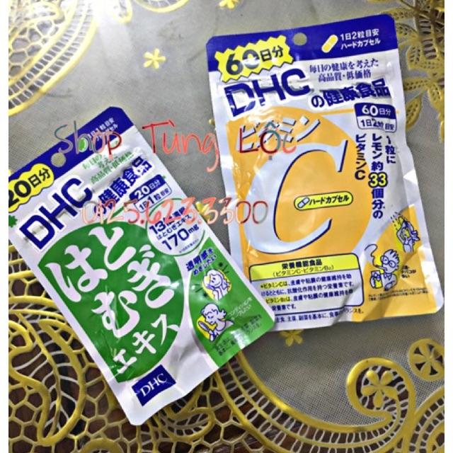 Combo viên uống DHC bổ sung vitaminC và viên uônga trắng da Dhc Nhật bản - 2921783 , 1094566539 , 322_1094566539 , 215000 , Combo-vien-uong-DHC-bo-sung-vitaminC-va-vien-uonga-trang-da-Dhc-Nhat-ban-322_1094566539 , shopee.vn , Combo viên uống DHC bổ sung vitaminC và viên uônga trắng da Dhc Nhật bản