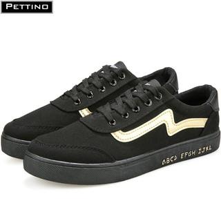 [Mã FAMALLT5 giảm 15% đơn 150K] Giày sneaker nam thời trang màu đen PETTINO - SSGT01