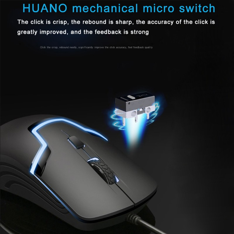 Chuột Gaming M100 Có Đèn Led 4 Nút