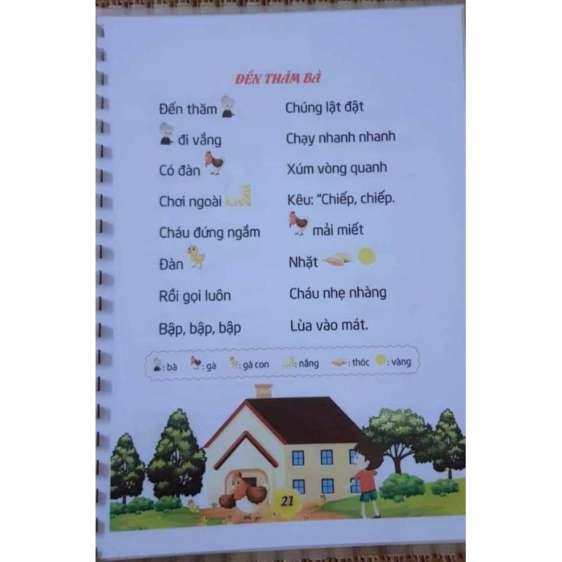 """HỌC LIỆU tiềm thức """"34 bài thơ tiềm thức cho bé tập nói tập đọc"""""""