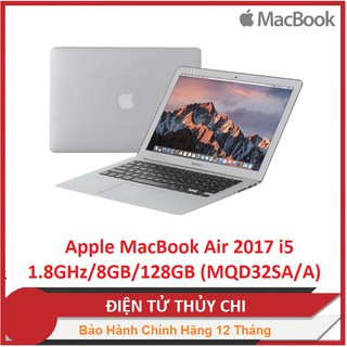 Laptop Apple MacBook Air 2017 i5 1.8GHz/8GB/128GB (MQD32SA/A)