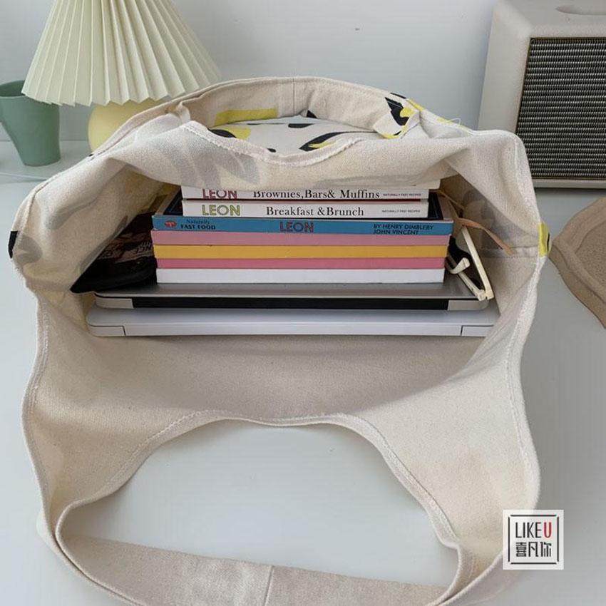 SỈ Túi tote vải bố đựng đồ canvas đeo chéo hình Môi siêu hot