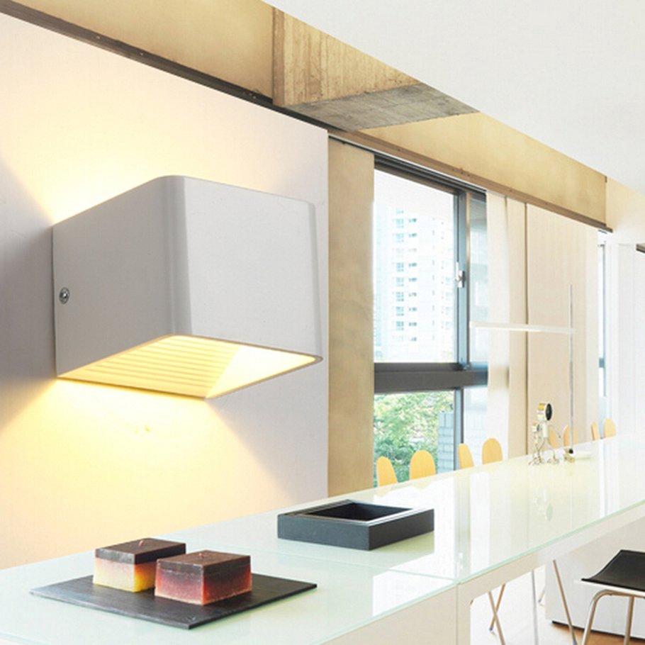 【SYH】OTP-CFX100-5W square COB wall lamp warm light LED aluminum wall lamp