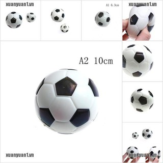 【XUANYUAN1】1PC Stress Relief Vent Ball Mini Football Squeeze Foam Soccer Ball