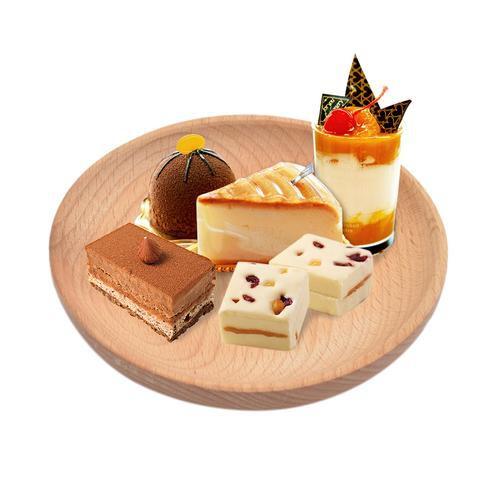 [Nhập CBCP17 giảm 10% tối đa 15K đơn 99K] Khay gỗ tròn đựng thức ăn
