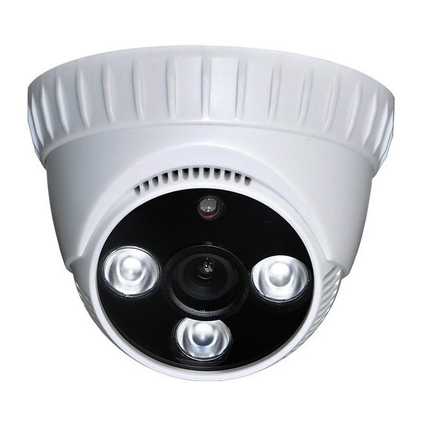 Camera Dome giám sát Elitek ECC-1017 (Trắng) Đi Theo Hệ Thống