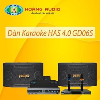 Bộ dàn karaoke gia đình HAS 4.0 GD06S thumbnail