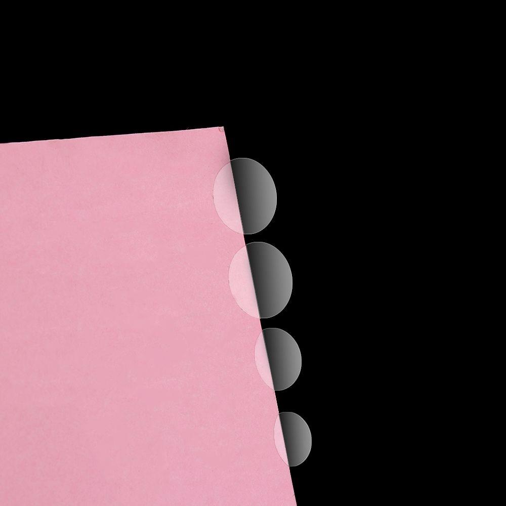 Set 8/24/48/70/96/132 miếng dán trong suốt hình tròn ghi nhãn cho file tài liệu