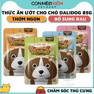 Pate cho chó Dali dog 85g bổ sung rau củ, thức ăn tăng cân dinh dưỡng chó lớn nhỏ cún cưng Con Mèo Xiêm thumbnail