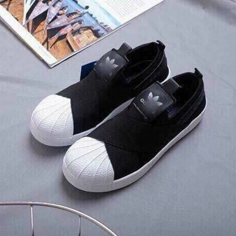 [SALE OFF] Giày Adidas Slip On mũi sò quai chéo màu đen trắng - 3467973 , 763800154 , 322_763800154 , 180000 , SALE-OFF-Giay-Adidas-Slip-On-mui-so-quai-cheo-mau-den-trang-322_763800154 , shopee.vn , [SALE OFF] Giày Adidas Slip On mũi sò quai chéo màu đen trắng