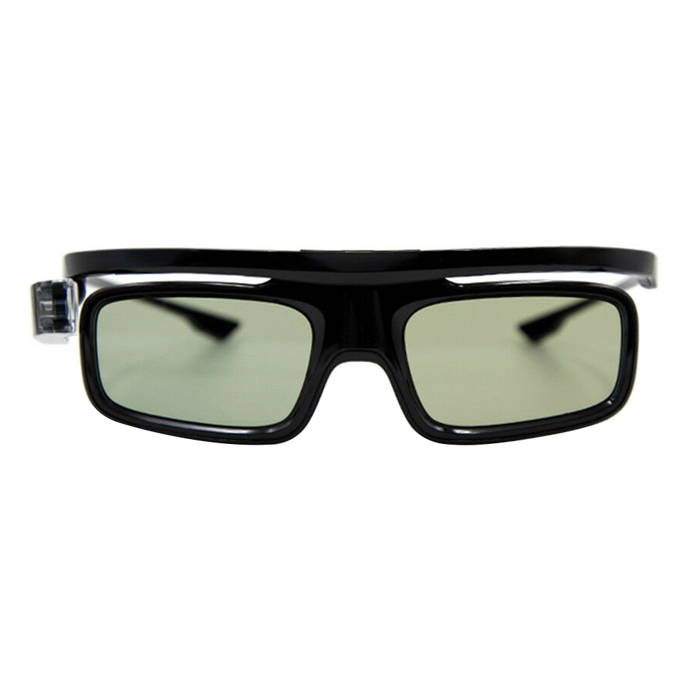 Practical Active Shutter 3D Glasses USB Rechargeable Foldable Accessories Lightweight Universal For DLP Link Projector