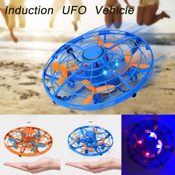 ĐĨA BAY UFO TỰ ĐỘNG CẢM ỨNG ĐIỀU KHIỂN BẰNG TAY BẰNG TAY CÓ ĐÈN LED CÓ VIDEO THỰC TẾ