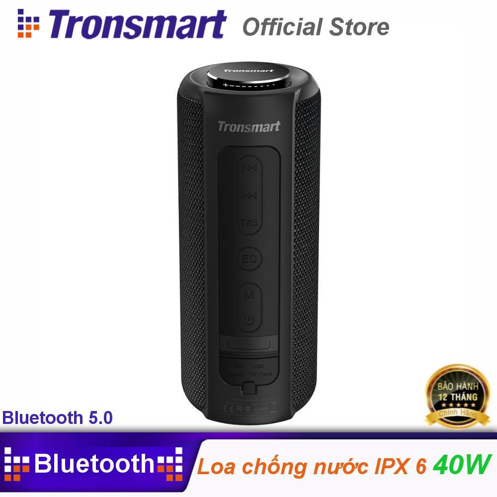 Loa Bluetooth 5.0 ngoài trời, âm thanh vòm 360, Bass sâu Tronsmart Element T6 Plus TM-349452 Hãng Phân Phối Chính Thức