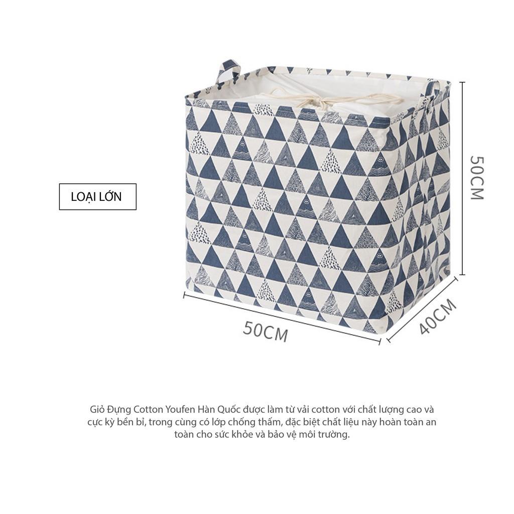 Túi vải đựng đồ cỡ lớn 75-100 lít, siêu to khổng lồ 50X50X40 cm
